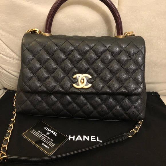 cc65f1df8ce2 CHANEL Bags | Coco Handle With Lazard Handle | Poshmark